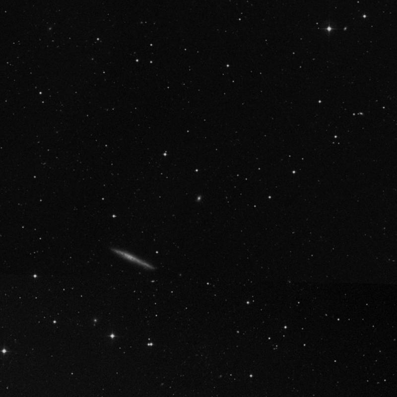 Image of NGC 4001 - Spiral Galaxy in Ursa Major star