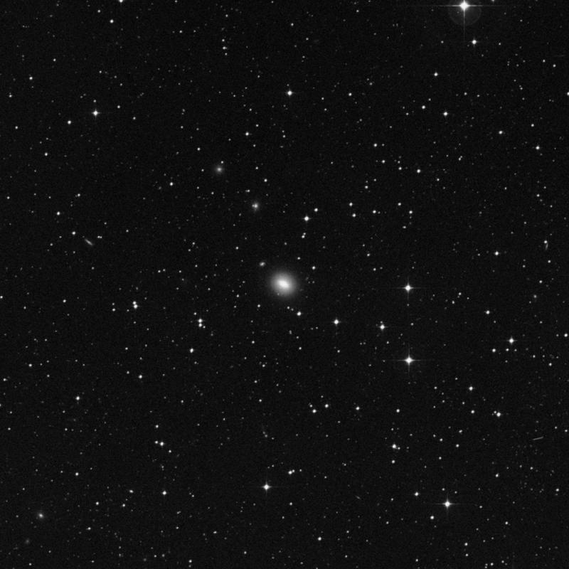 Image of NGC 4024 - Elliptical/Spiral Galaxy in Corvus star