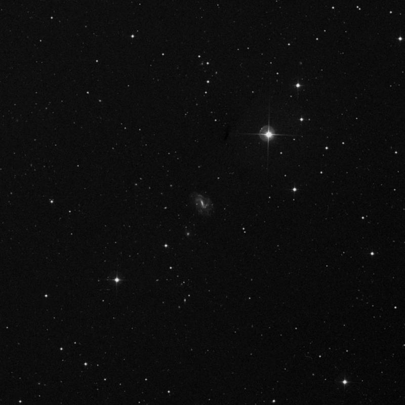 Image of NGC 4025 -  Galaxy in Ursa Major star