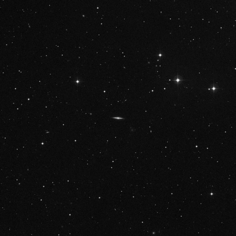 Image of NGC 4149 - Intermediate Spiral Galaxy in Ursa Major star