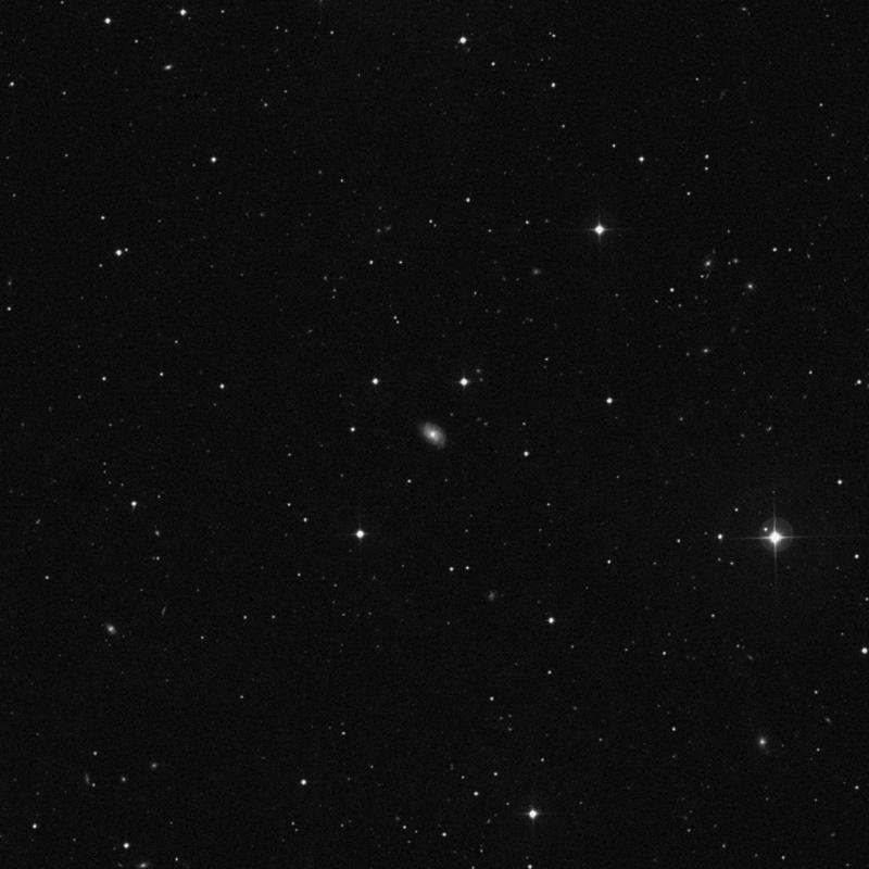 Image of NGC 4161 - Spiral Galaxy in Ursa Major star