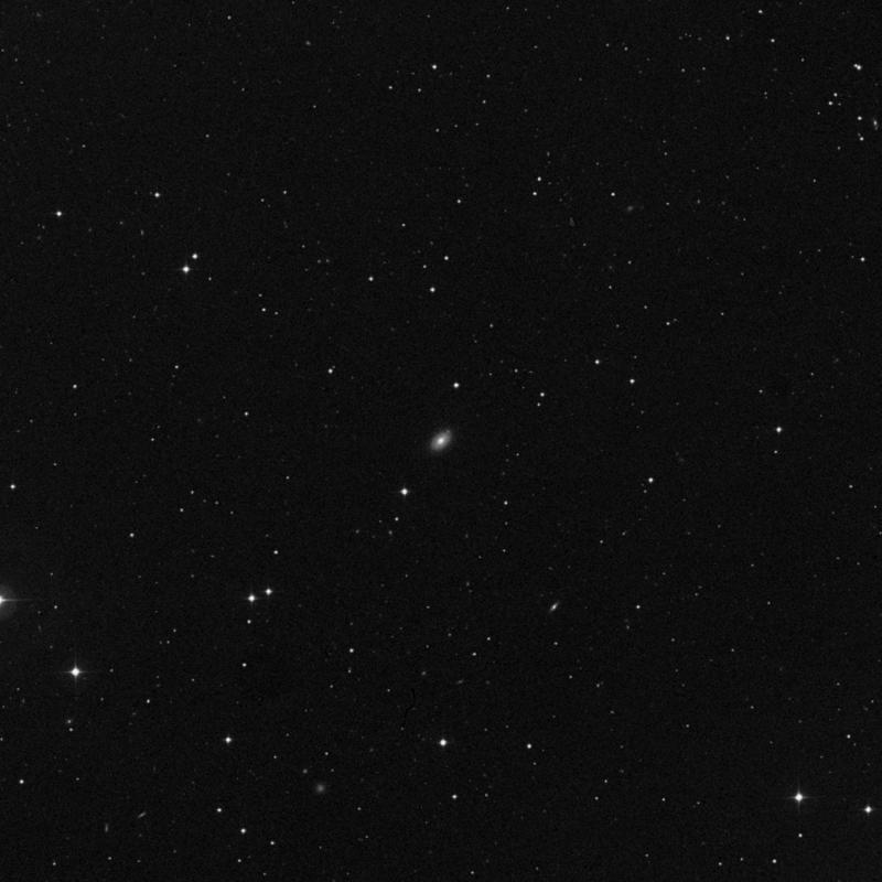 Image of NGC 4198 - Lenticular Galaxy in Ursa Major star