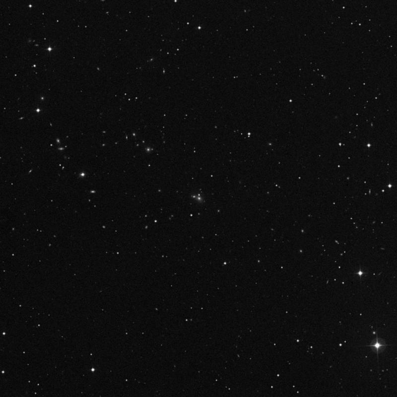 Image of NGC 4199A - Elliptical (E?) Galaxy in Ursa Major star