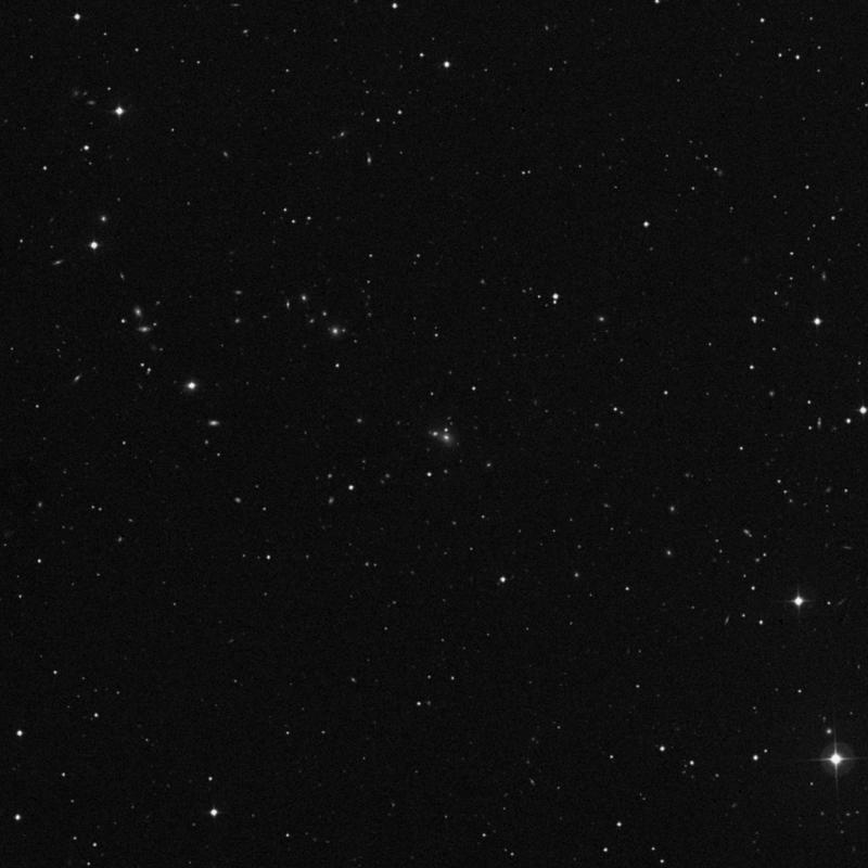 Image of NGC 4199B - Lenticular Galaxy in Ursa Major star