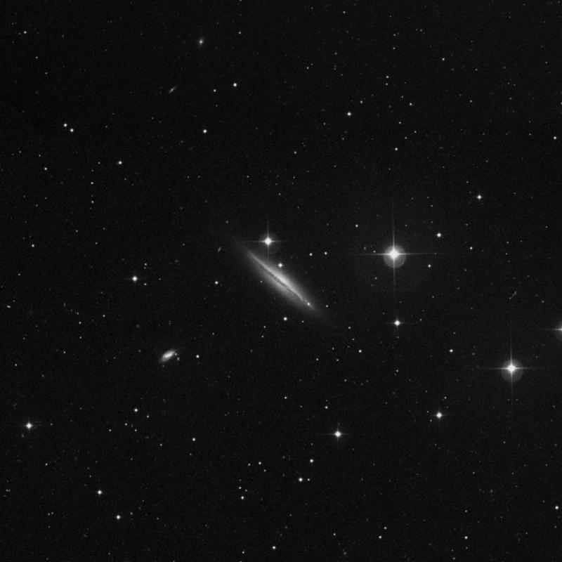 Image of NGC 4217 - Spiral Galaxy in Canes Venatici star