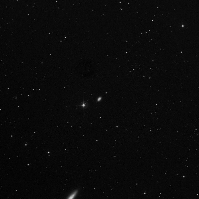 Image of NGC 4218 - Intermediate Spiral Galaxy in Canes Venatici star