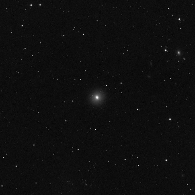 Image of NGC 4267 - Elliptical/Spiral Galaxy in Virgo star