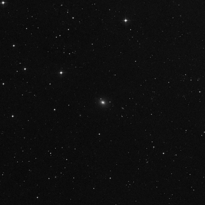 Image of NGC 4271 - Elliptical/Spiral Galaxy in Ursa Major star