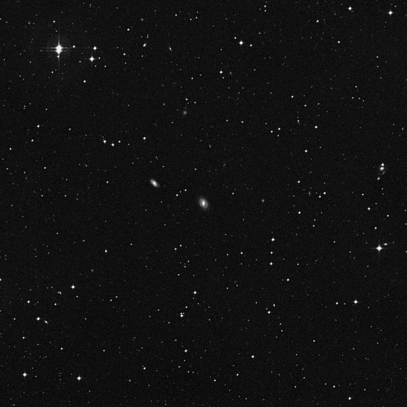Image of NGC 4279 - Lenticular Galaxy in Corvus star