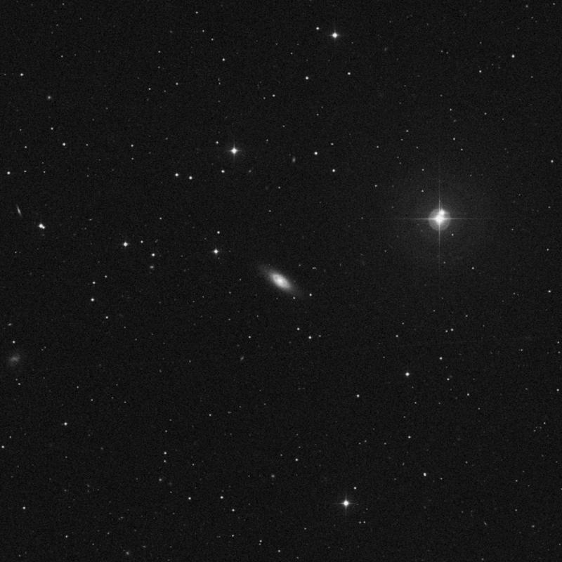 Image of NGC 4324 - Lenticular Galaxy in Virgo star
