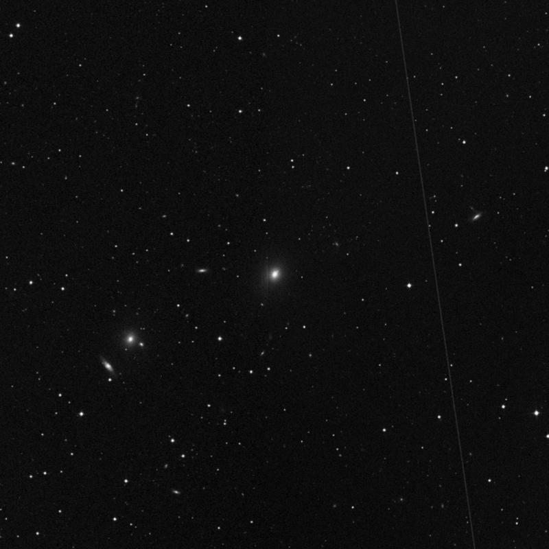 Image of NGC 4335 - Elliptical Galaxy in Ursa Major star