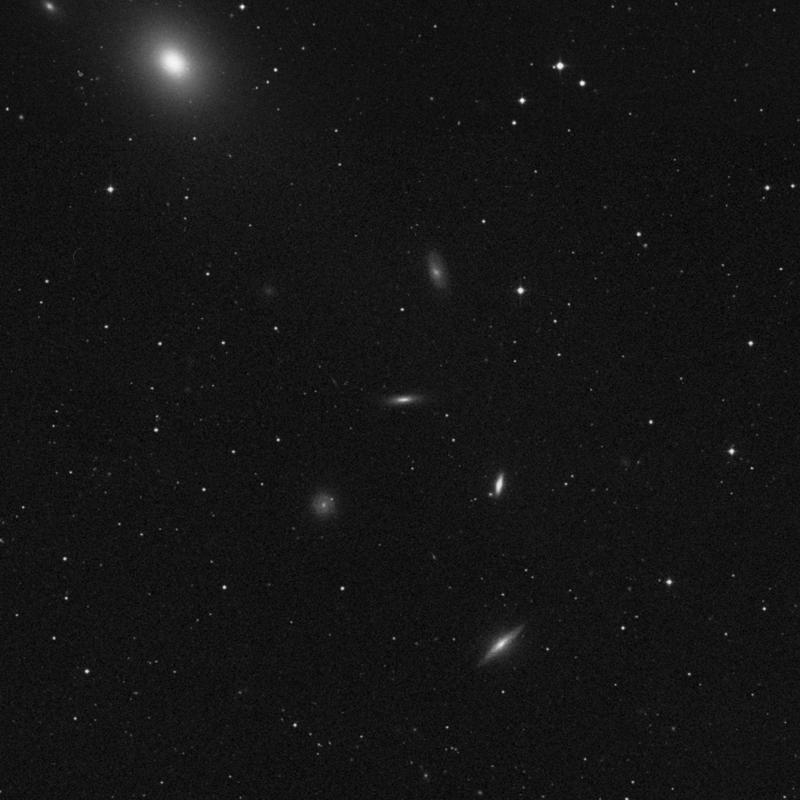 Image of NGC 4341 - Lenticular Galaxy in Virgo star