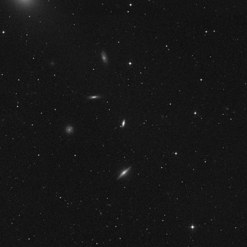 Image of NGC 4342 - Elliptical/Spiral Galaxy in Virgo star