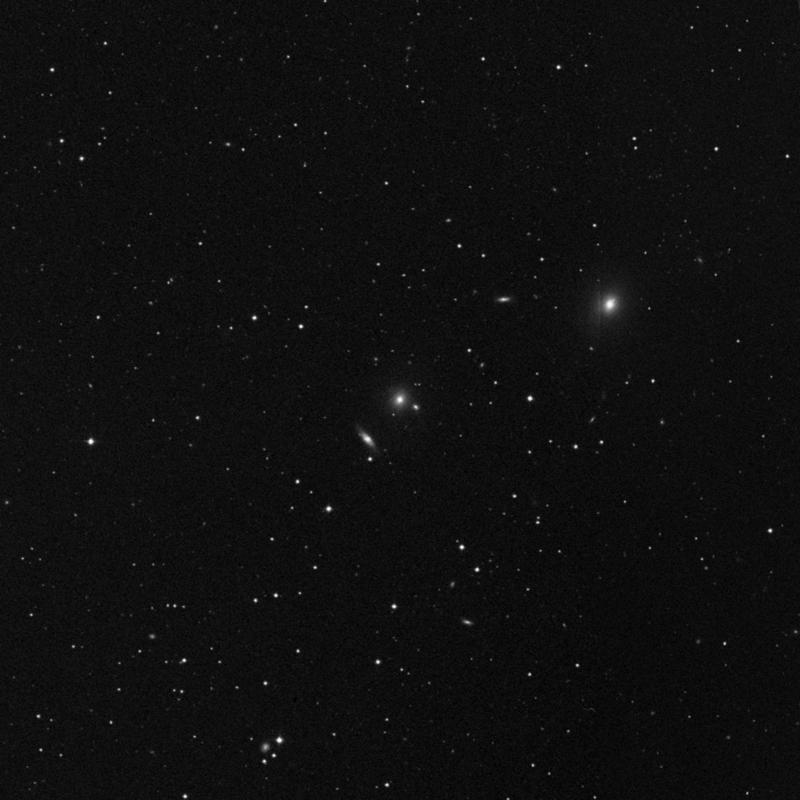 Image of NGC 4358 - Lenticular Galaxy in Ursa Major star