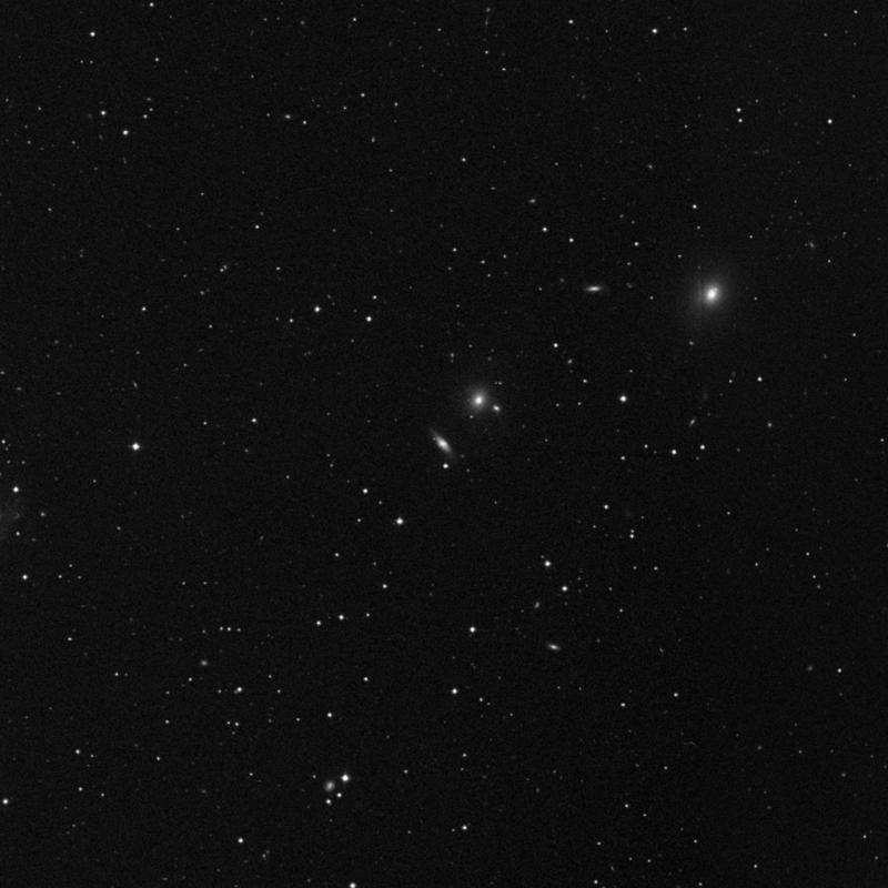 Image of NGC 4362 - Lenticular Galaxy in Ursa Major star