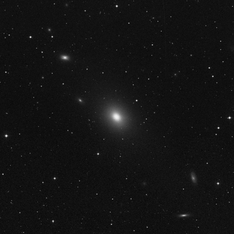 Image of NGC 4365 - Elliptical Galaxy in Virgo star