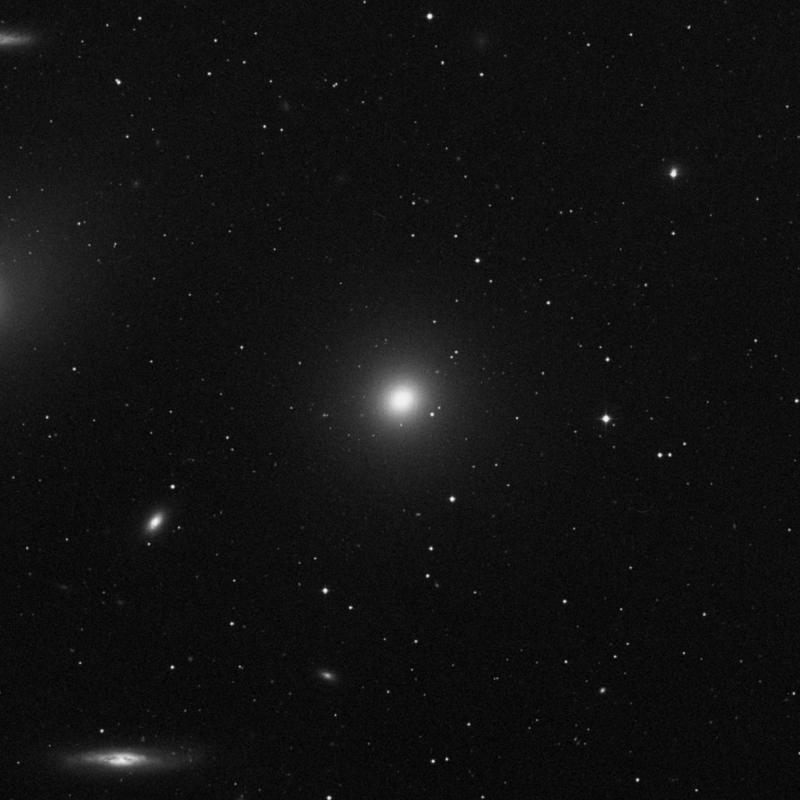 Image of Messier 84 - Elliptical Galaxy in Virgo star