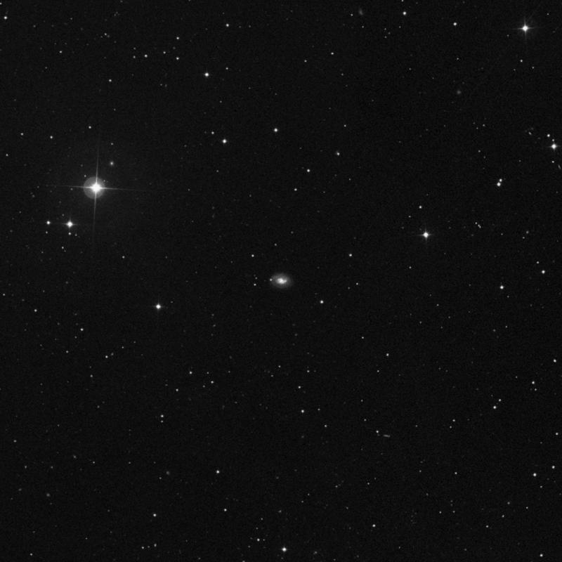 Image of NGC 4384 - Spiral Galaxy in Ursa Major star