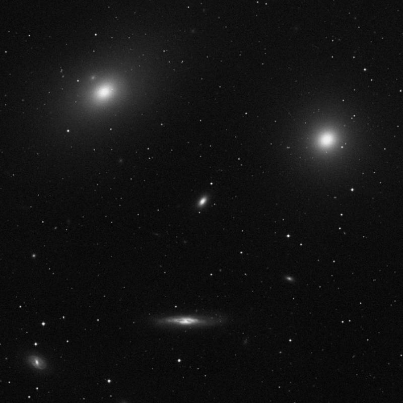 Image of NGC 4387 - Elliptical Galaxy star