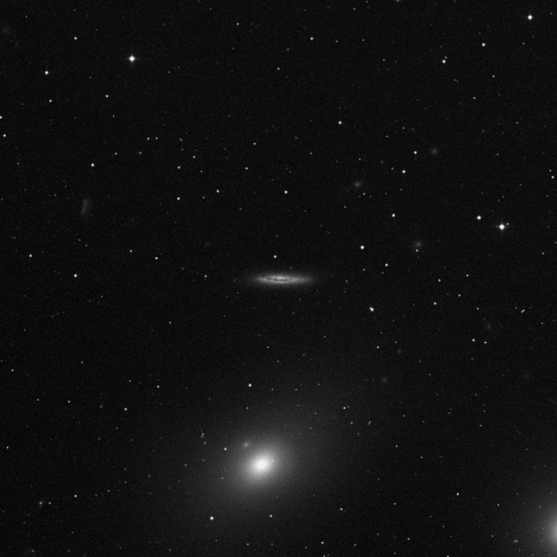 Image of NGC 4402 - Spiral Galaxy in Virgo star