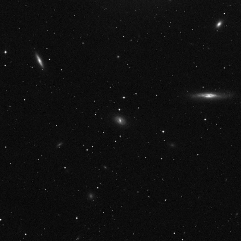 Image of NGC 4407 - Spiral Galaxy star