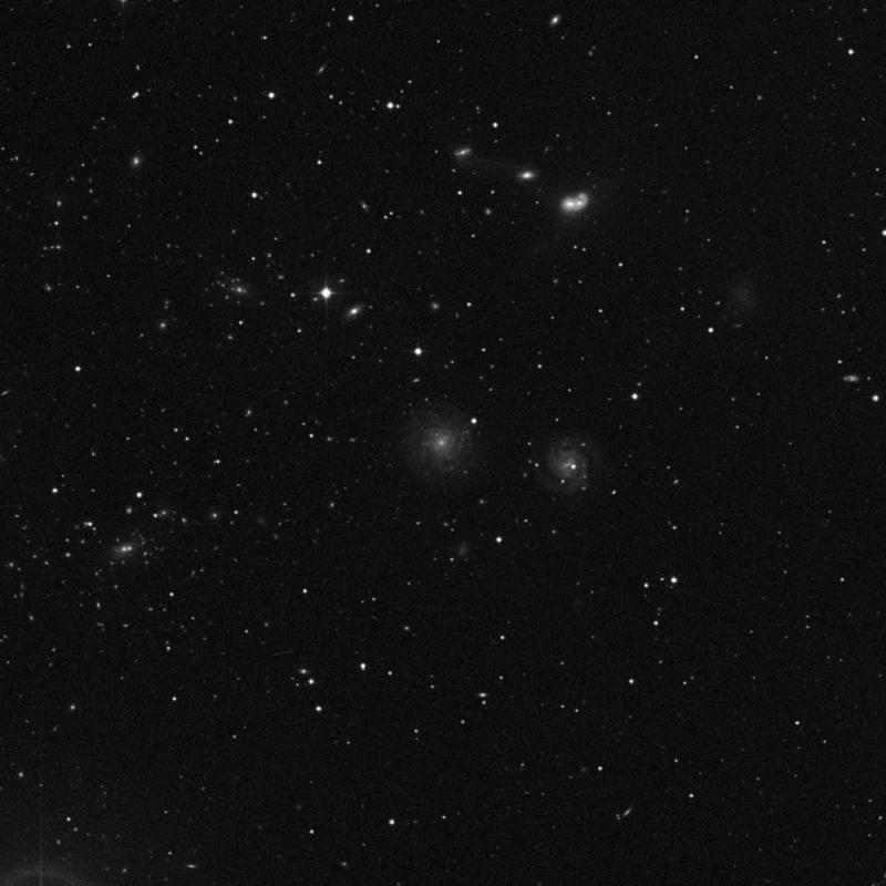 Image of NGC 4411B - Intermediate Spiral Galaxy in Virgo star