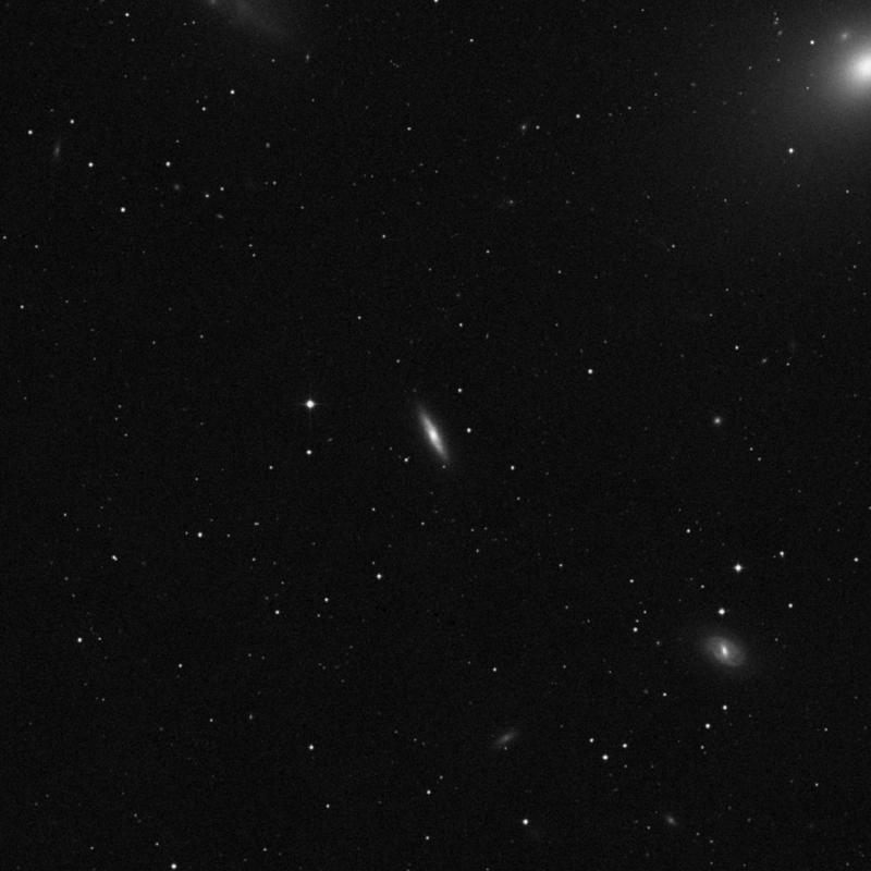 Image of NGC 4425 - Lenticular Galaxy in Virgo star