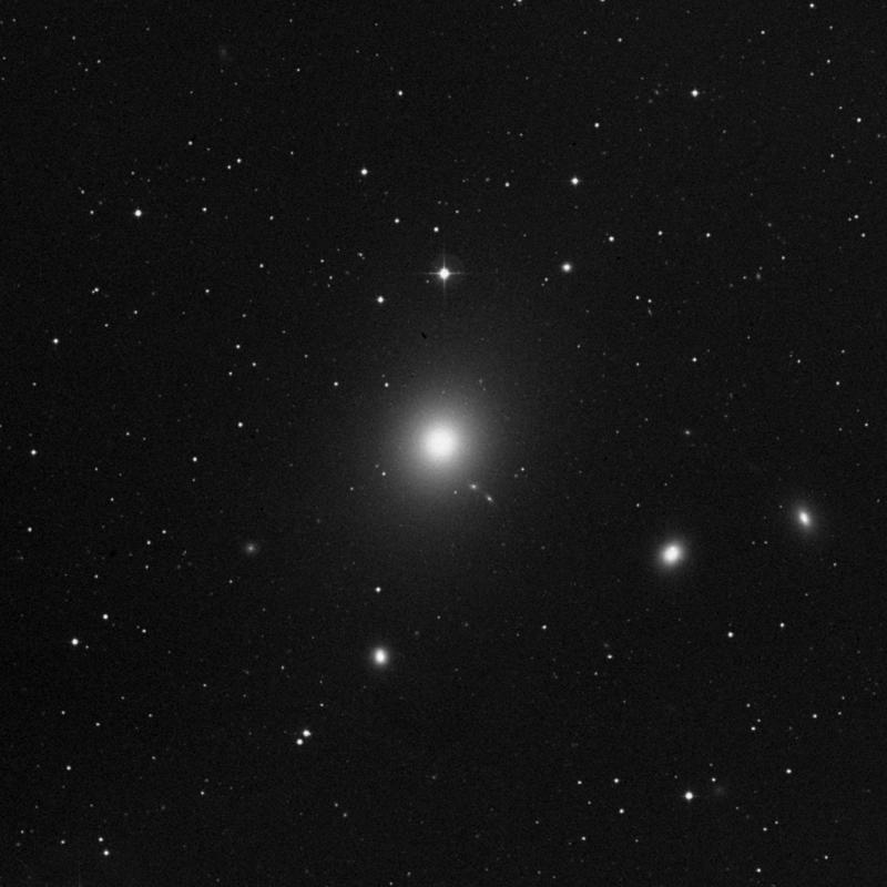 Image of Messier 87 (Virgo A) - Elliptical Galaxy star