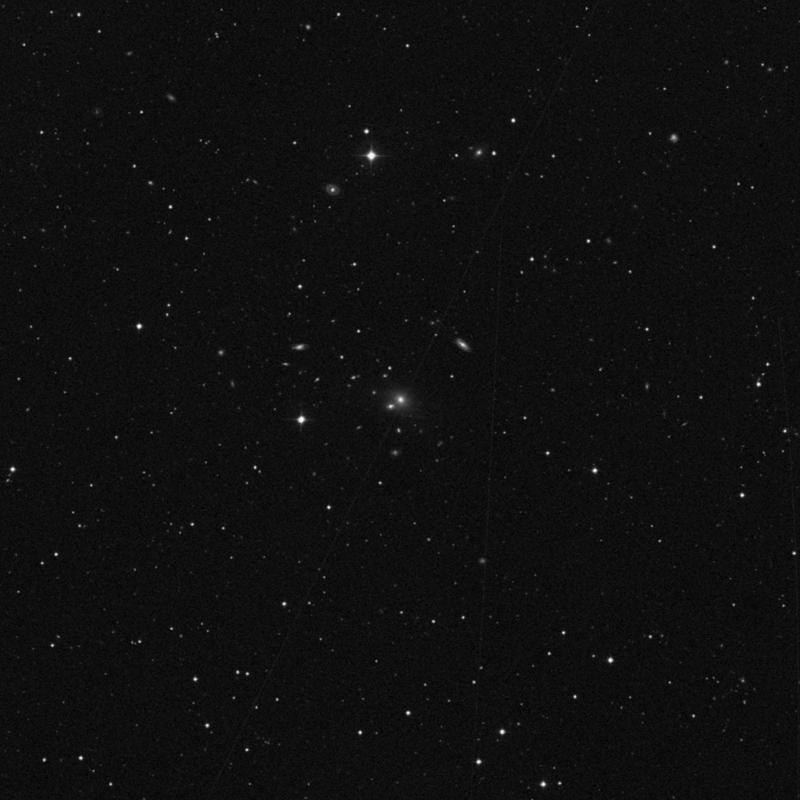 Image of NGC 4547 - Elliptical Galaxy in Ursa Major star