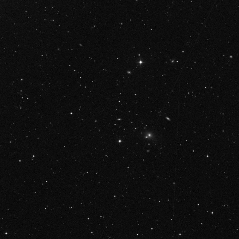 Image of NGC 4549 - Intermediate Spiral Galaxy in Ursa Major star
