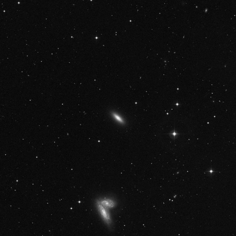 Image of NGC 4564 - Elliptical Galaxy star