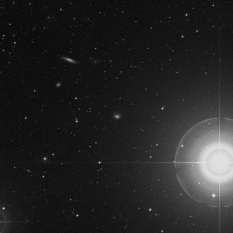 Image of NGC 4629 - Intermediate Spiral(SABm) Galaxy star