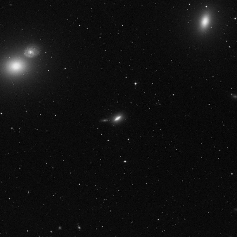 Image of NGC 4638 - Elliptical/Spiral Galaxy in Virgo star