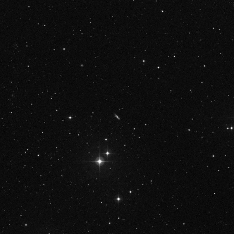 Image of NGC 4652 - Spiral Galaxy in Ursa Major star