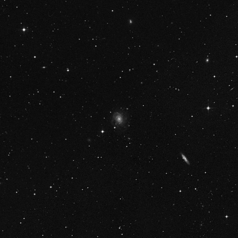 Image of NGC 4653 - Intermediate Spiral Galaxy in Virgo star