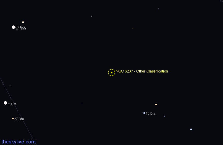 Finder chart NGC 6237 - Other Classification star