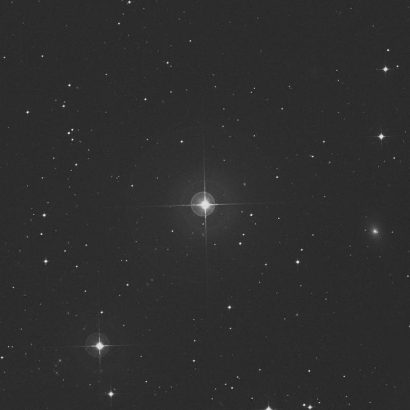 Image of χ2 Fornacis (chi2 Fornacis) star