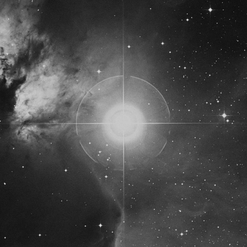 Image of Alnitak - ζ Orionis (zeta Orionis) star