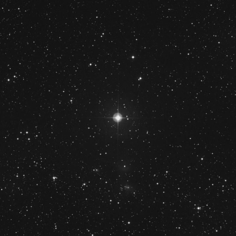 Image of 71 Orionis star