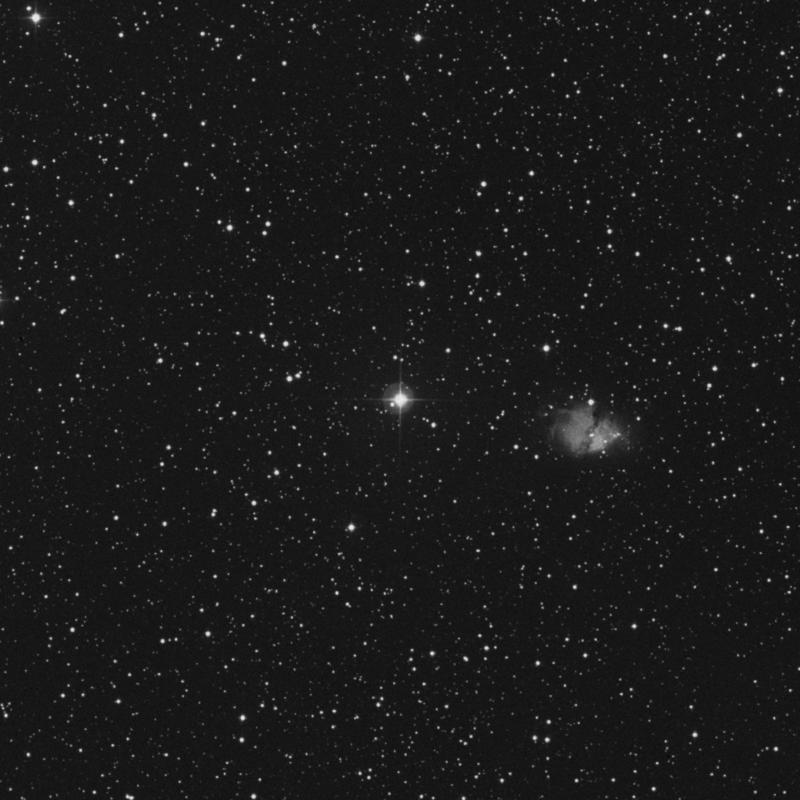 Image of HR2222 star
