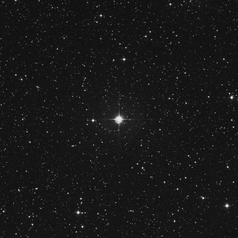 Image of 74 Orionis star
