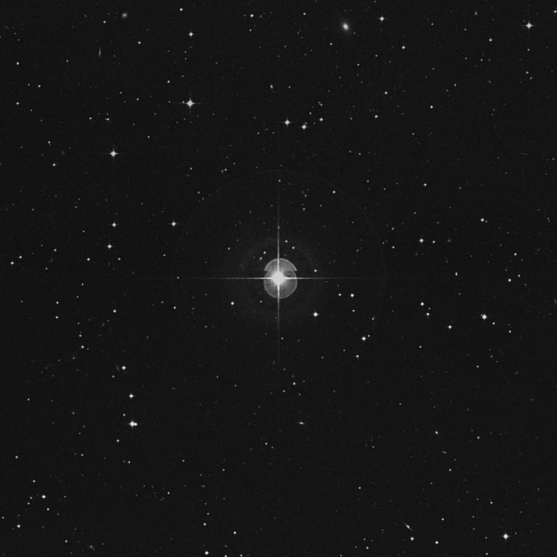 Image of δ Sextantis (delta Sextantis) star