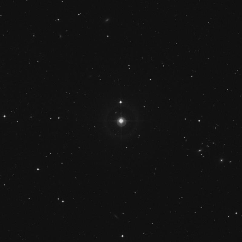 Image of 34 Virginis star