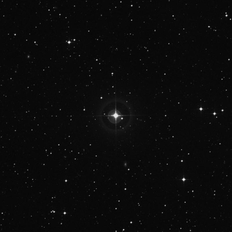 Image of 54 Virginis star