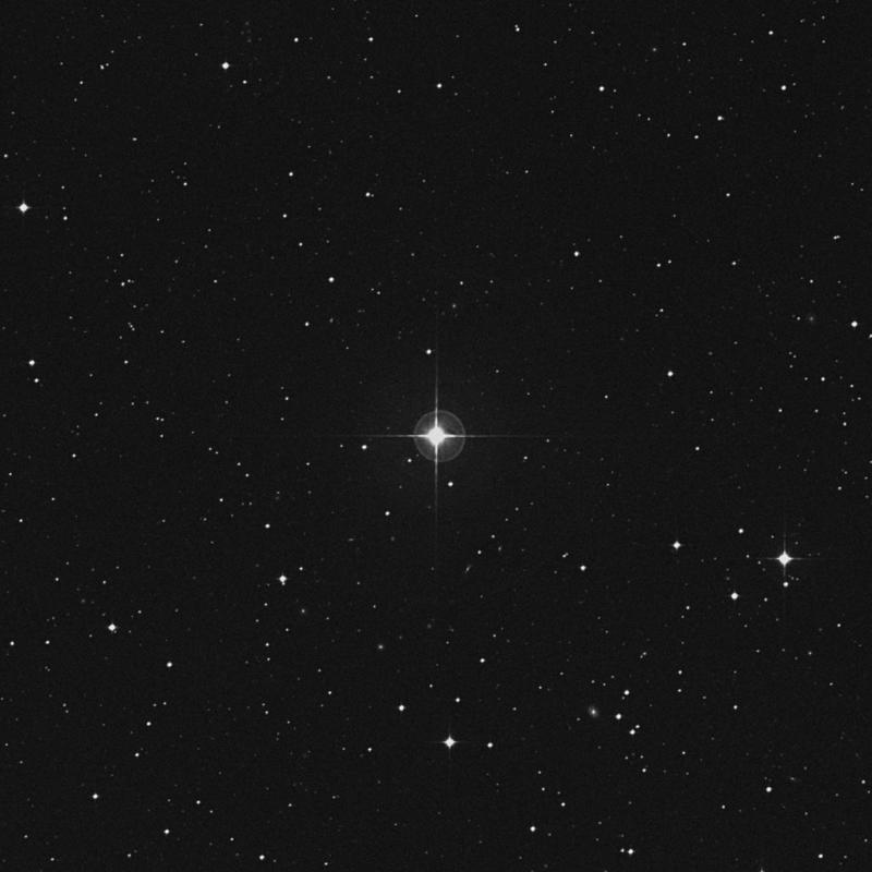Image of 96 Virginis star
