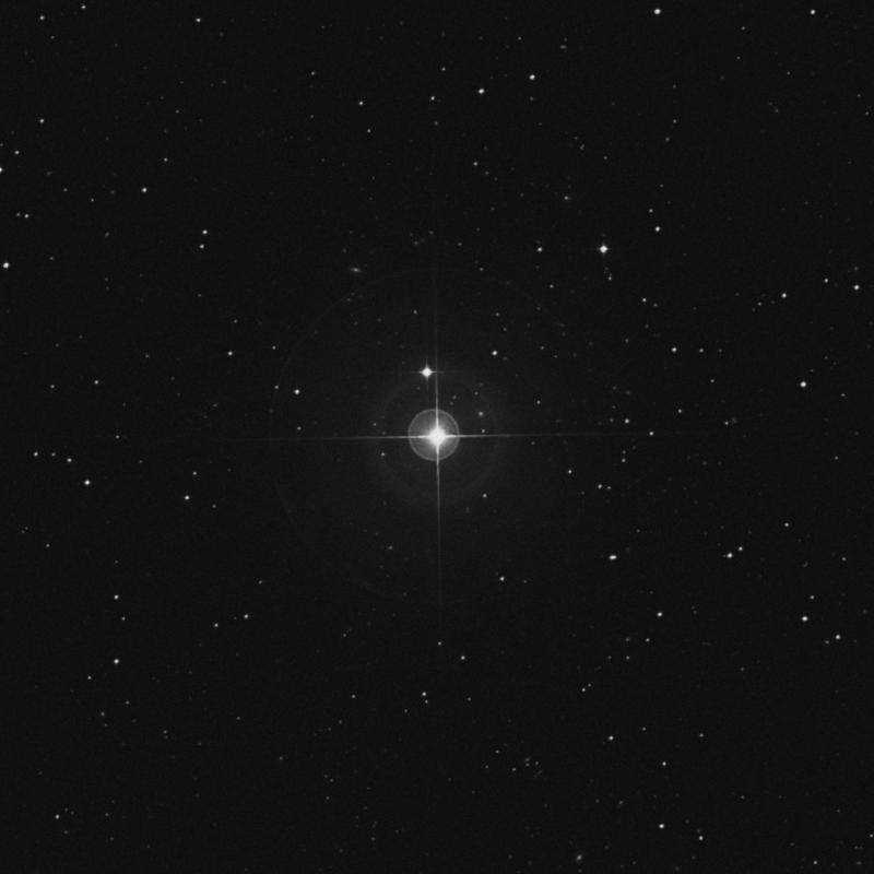 Image of μ Fornacis (mu Fornacis) star