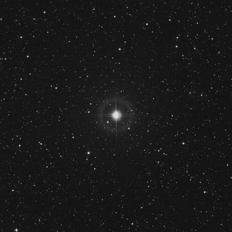 Image of 100 Herculis star