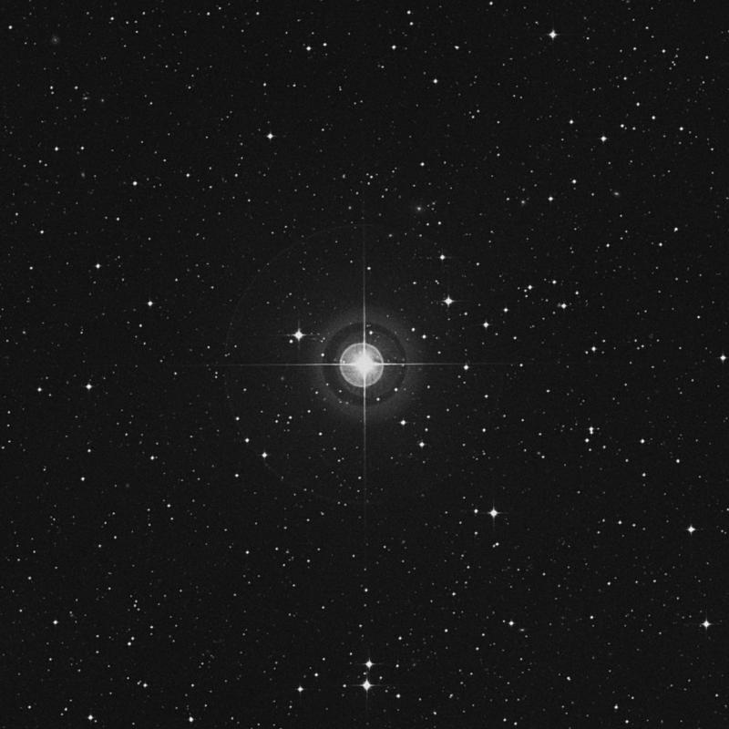 Image of 7 Aquarii star