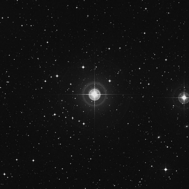 Image of 17 Aquarii star