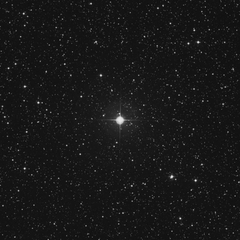 Image of 2 Lacertae star